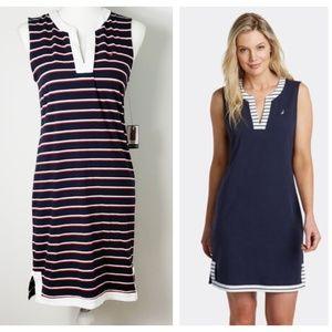 🎃 Nautica : NWT Palmetto Split-Neck Sheath Dress